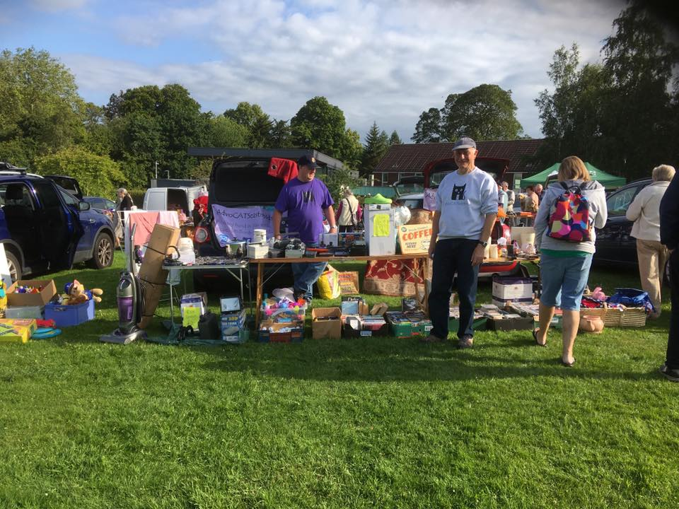 Great day at our car boot sale