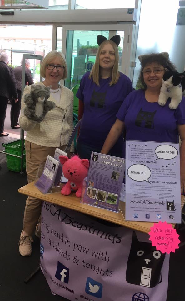 Erewash MP Maggie Throup chats with AdvoCATS
