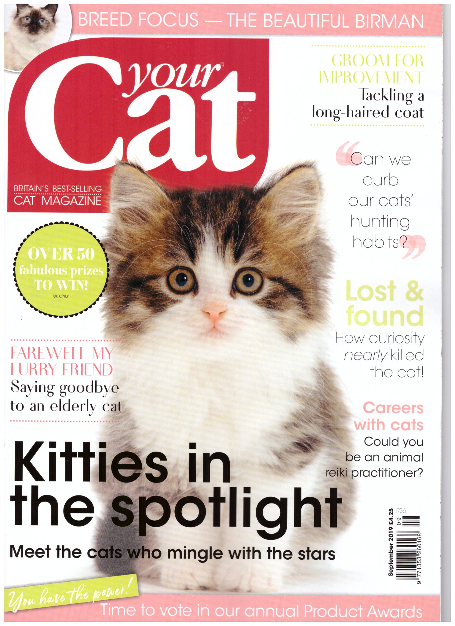 AdvoCATS featured in Sept issue of Your Cat Magazine